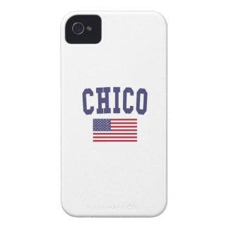 Chico US Flag Case-Mate iPhone 4 Case