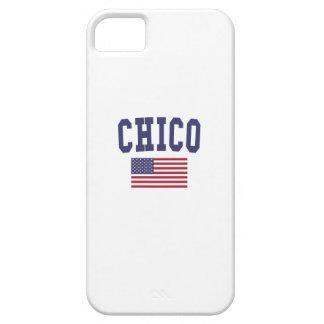 Chico US Flag iPhone SE/5/5s Case