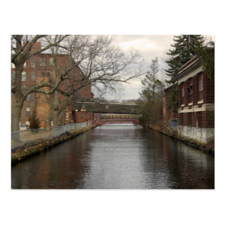 Chicopee River through the Mills Postcard