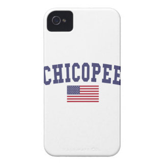 Chicopee US Flag iPhone 4 Cover