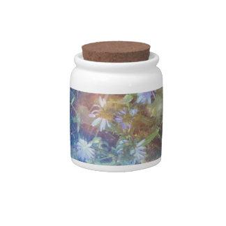 Chicory Grass Candy Jar