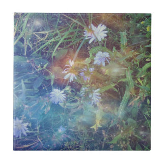 Chicory Grass Tile