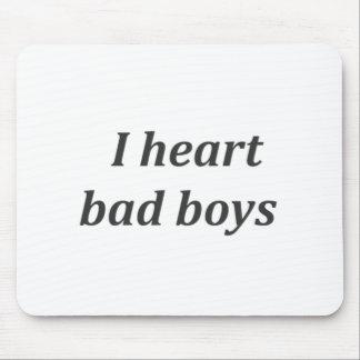 chicos malos del corazón i tapetes de ratones