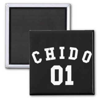 Chido 01 2 inch square magnet