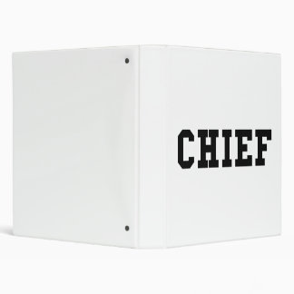 Chief 3 Ring Binder