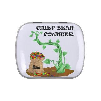 Chief Bean Counter Candy Tin