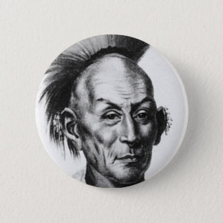 Chief Black Hawk Pinback Button