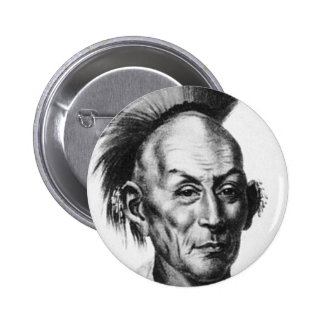 Chief Black Hawk Pinback Button