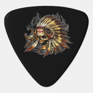 Chief Bones Guitar Pick