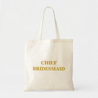 """Chief Bridesmaid"" Bag. Tote Bag"