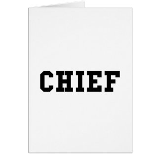 Chief Card