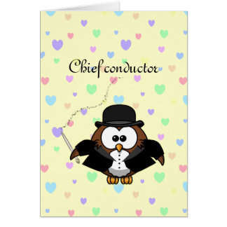 chief conductor card