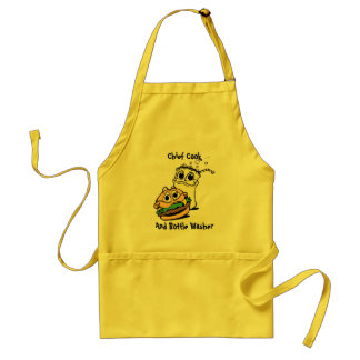 Chief Cook and Bottle Washer Adult Apron