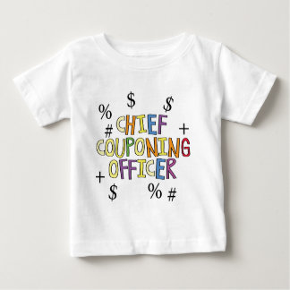 Chief Couponing Officer- www.GrammarGumbo.com Baby T-Shirt