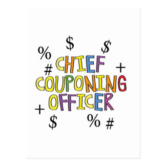 Chief Couponing Officer- www.GrammarGumbo.com Postcard