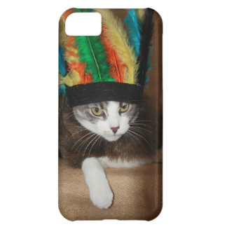 Chief Crazy Cat Cover For iPhone 5C