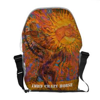 Chief Crazy Horse Messenger Bag