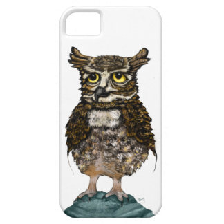 Chief detective Mr. Owl iPhone SE/5/5s Case
