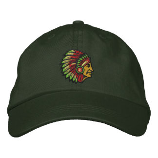 Chief Embroidered Baseball Hat
