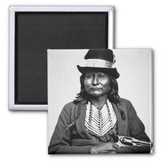 Chief Esatonyett, 1869 (b/w photo) Magnet