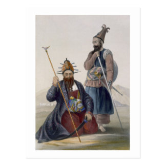 Chief Executioner and Assistant of His Majesty the Postcard