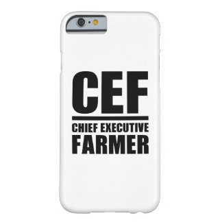 Chief Executive Farmer Barely There iPhone 6 Case