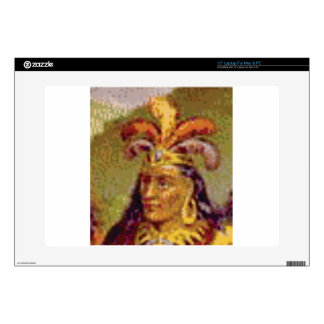 chief feather laptop decal
