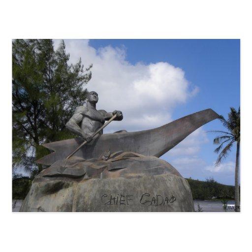 Chief Gadao Post Card