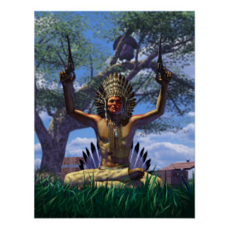 Chief Gobbler Print