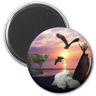 Chief I love the earth Refrigerator Magnet