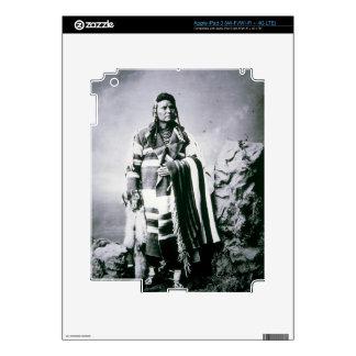Chief Joseph (1840-1904) c.1880 (b/w photo) iPad 3 Skin