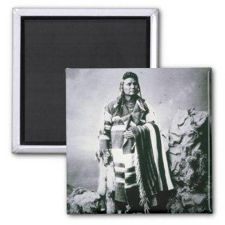 Chief Joseph (1840-1904) c.1880 (b/w photo) Magnet
