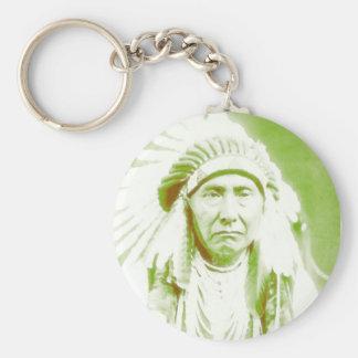 Chief Joseph Native American Leader Keychain