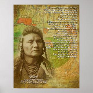 Chief Joseph of the Nez Perce Poster