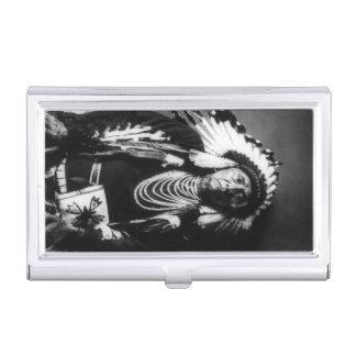 Chief Joseph Vintage Nez Perce Native American Business Card Holder
