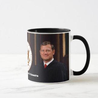 Chief Justice John G. Roberts - U.S. Supreme Court Mug