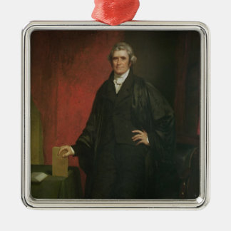 Chief Justice Marshall Metal Ornament