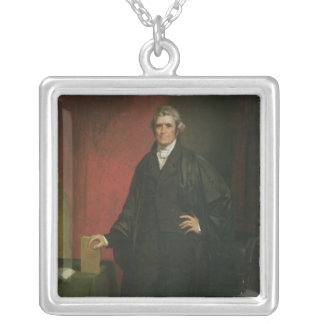 Chief Justice Marshall Silver Plated Necklace