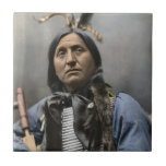 """Chief Left Hand Bear Ogala Sioux Vintage Ceramic Tile<br><div class=""""desc"""">Chief Left Hand Bear Ogala Sioux Vintage</div>"""