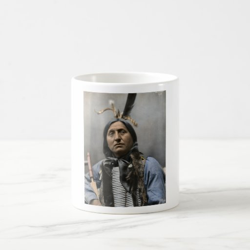 Chief Left Hand Bear Ogala Sioux Vintage Coffee Mugs