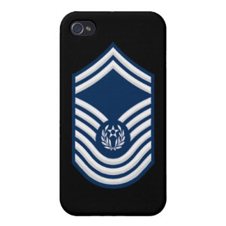 Chief Master Sergeant Of The Air Force (1967-1991) Cases For iPhone 4