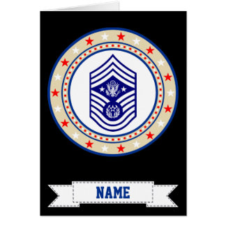 Chief Master Sergeant of the Air Force CMSAF Card