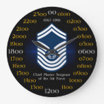 Chief Master Sergeant of the Air Force E-9 Wallclocks