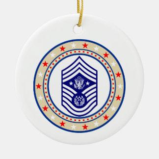 Chief Master Sergeant of the Air Force E-9 CMSAF Ceramic Ornament