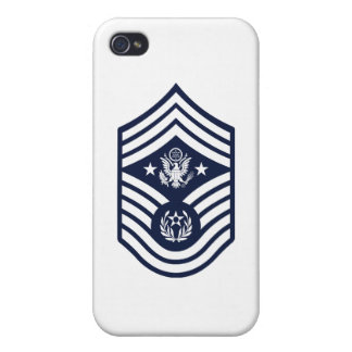 Chief Master Sergeant of the Air Force E-9 iPhone 4 Cases