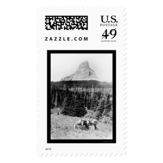 Chief Mountain from Glacier National Park 1925 Postage Stamps