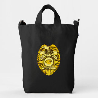 Chief Of Kitchen Police Badge Duck Bag