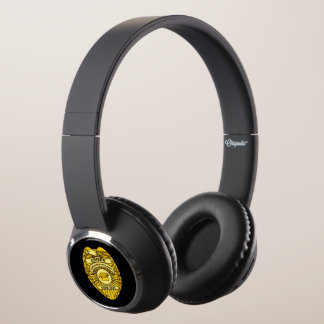 Chief Of Kitchen Police Badge Headphones