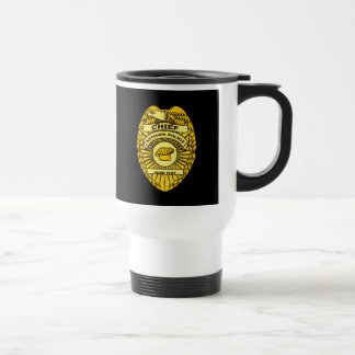Chief Of Kitchen Police Badge Coffee Mugs