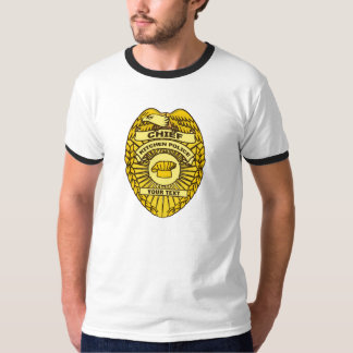 Chief Of Kitchen Police Badge T-Shirt